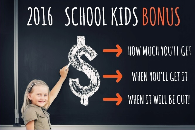 2016 School Kids Bonus