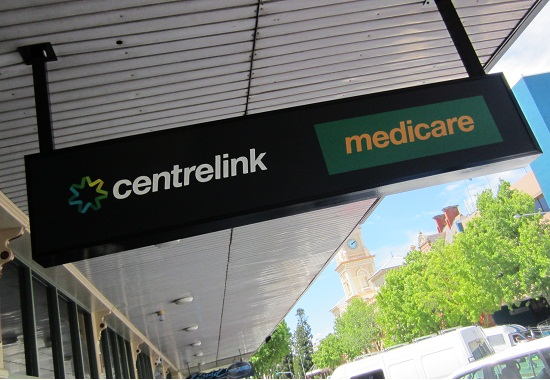 Centrelink Stock Photo