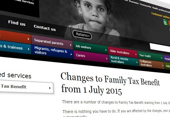 Centrelink Family Tax Benefit Part B changes are coming