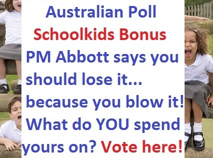 School kids bonus Poll article...