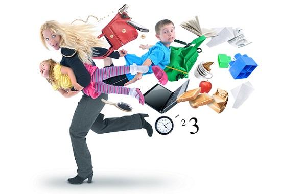 Single Parent election promises - Stock Photo