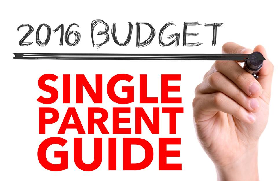 A single parent guide to Budget 2016 - stock photo source: Bigstock.com