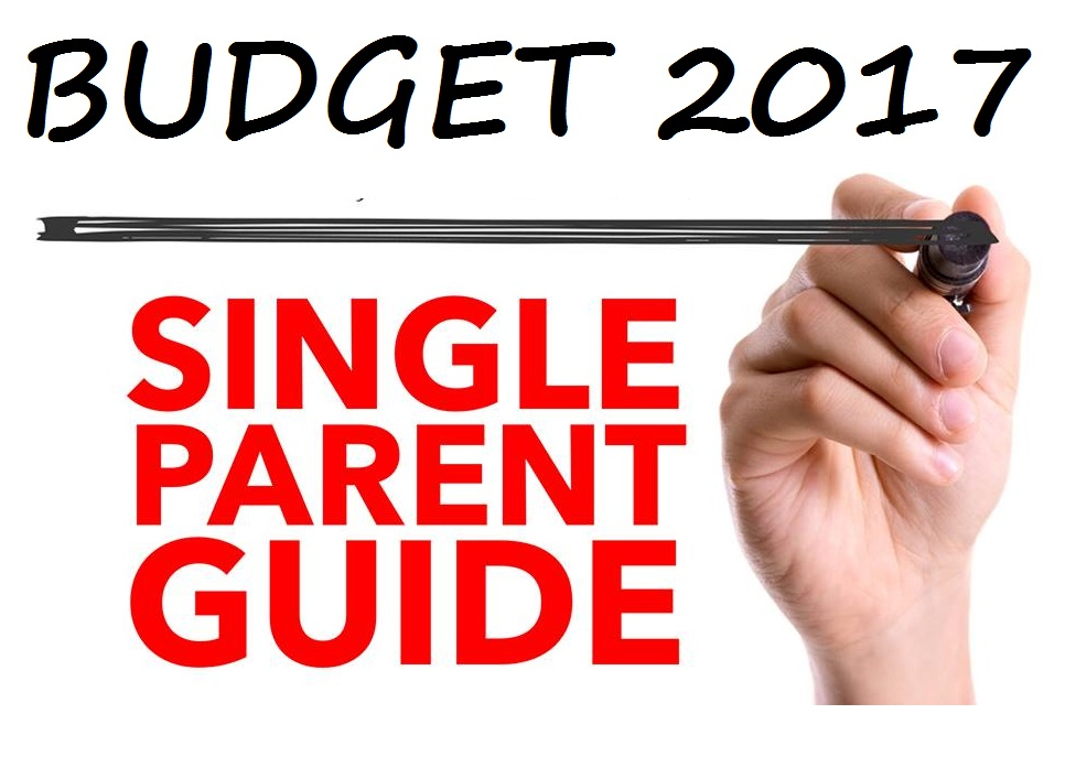 A single parent guide to Budget 2017 - stock photo source: Bigstock.com