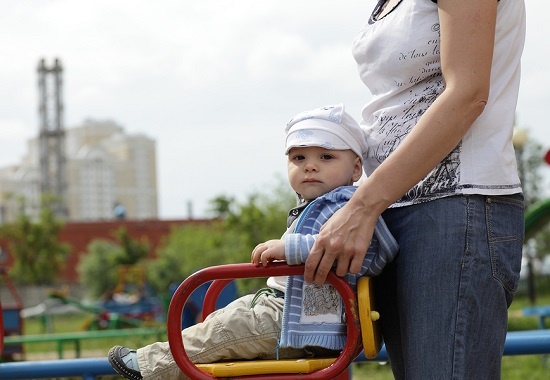Single parents have been an ongoing target for cutbacks - Stock Photo