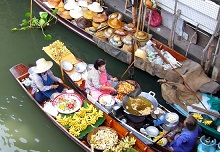 Visit Bangkok and its five senses..