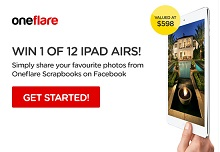 Win a Oneflare voucher...