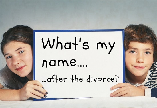 Changing a child's name without permission - stock photo source: Bigstock.com