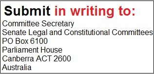 submit by writing