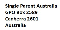 single mum aust. postal address