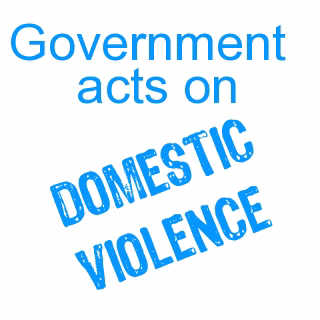 Government acts on domestic violence