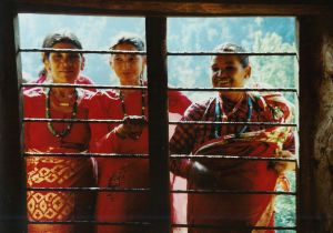 Nepalese village women