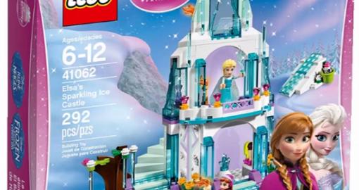 Disney Frozen Elsa's Ice Palace Lego Set release news