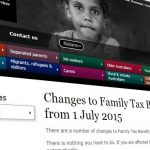 Update on the future of Family Tax Benefit Part B