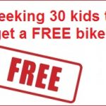 Seeking 30 Sydney kids for free bikes