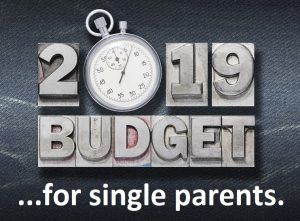2019 Budget for single parents