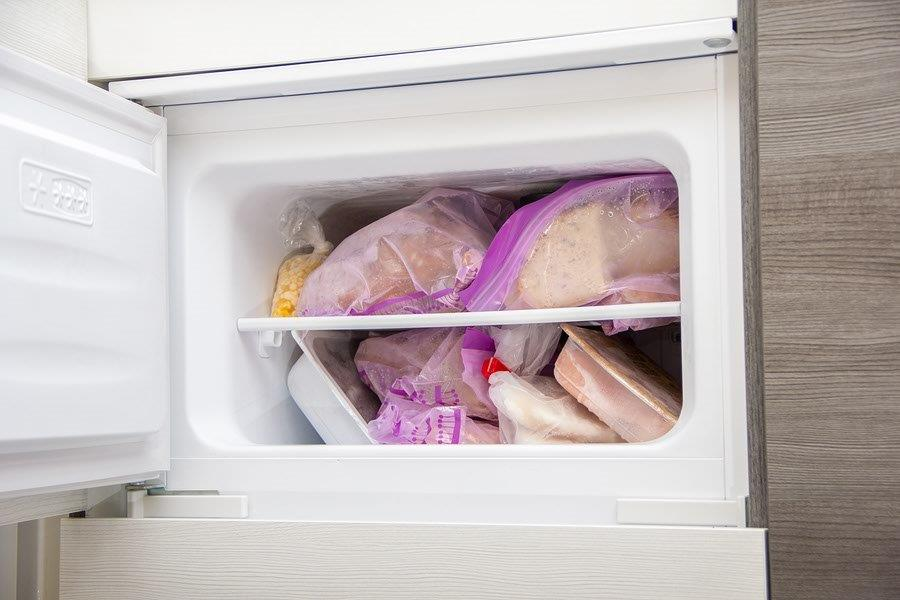 Keep a loaf of bread in the freezer