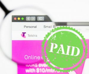 Paid Telstra bill