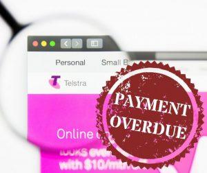 Unpaid Telstra bill