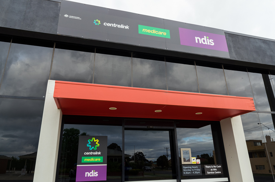 Centrelink goverment office