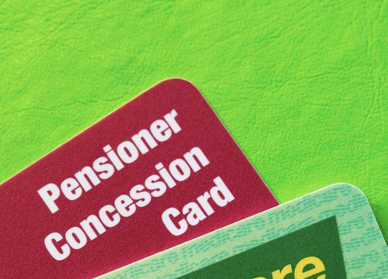 Australian pension card