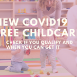 Working mums can get free child care if...