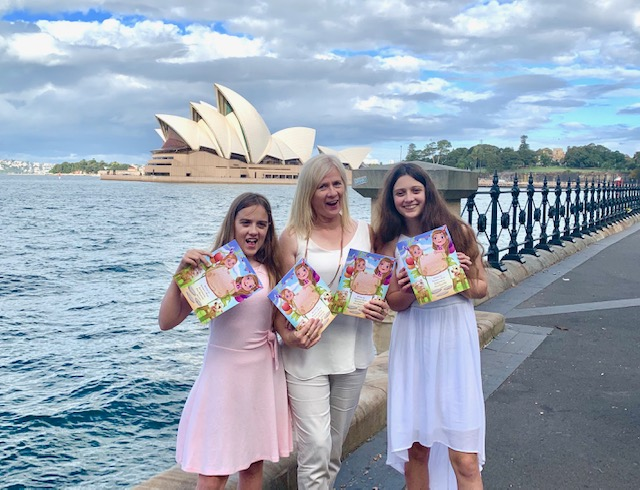 Author Barbara Bryan and her daughters Brooke and Samantha