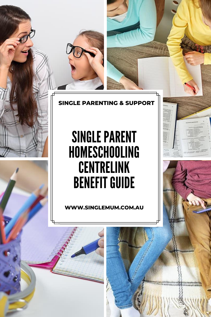 Single parent homeschool support - There are a lot of great educational benefits to homeschooling your child or teenager - but did you know that there are extra Centrelink benefits too?