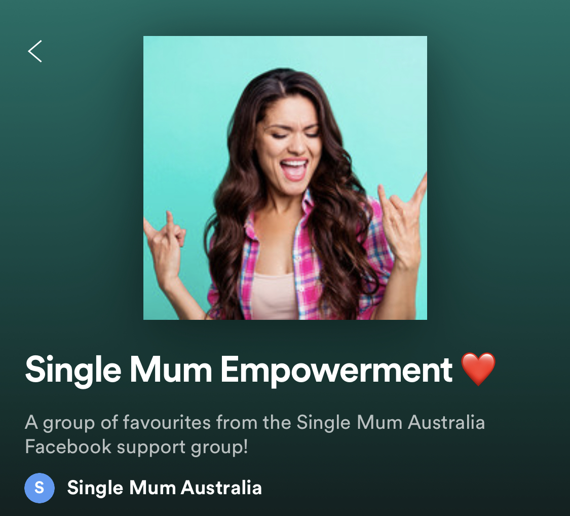 Single mum playlist