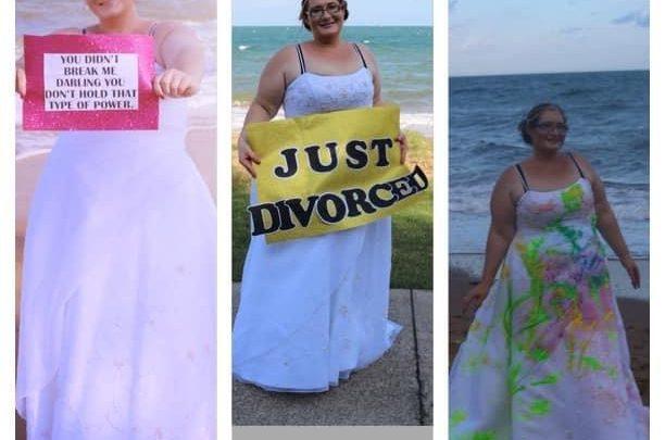 Jasmine Killmartin on her divorce day