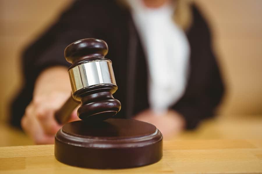 Family law court judge - Stock photo - Image source: Bigstock