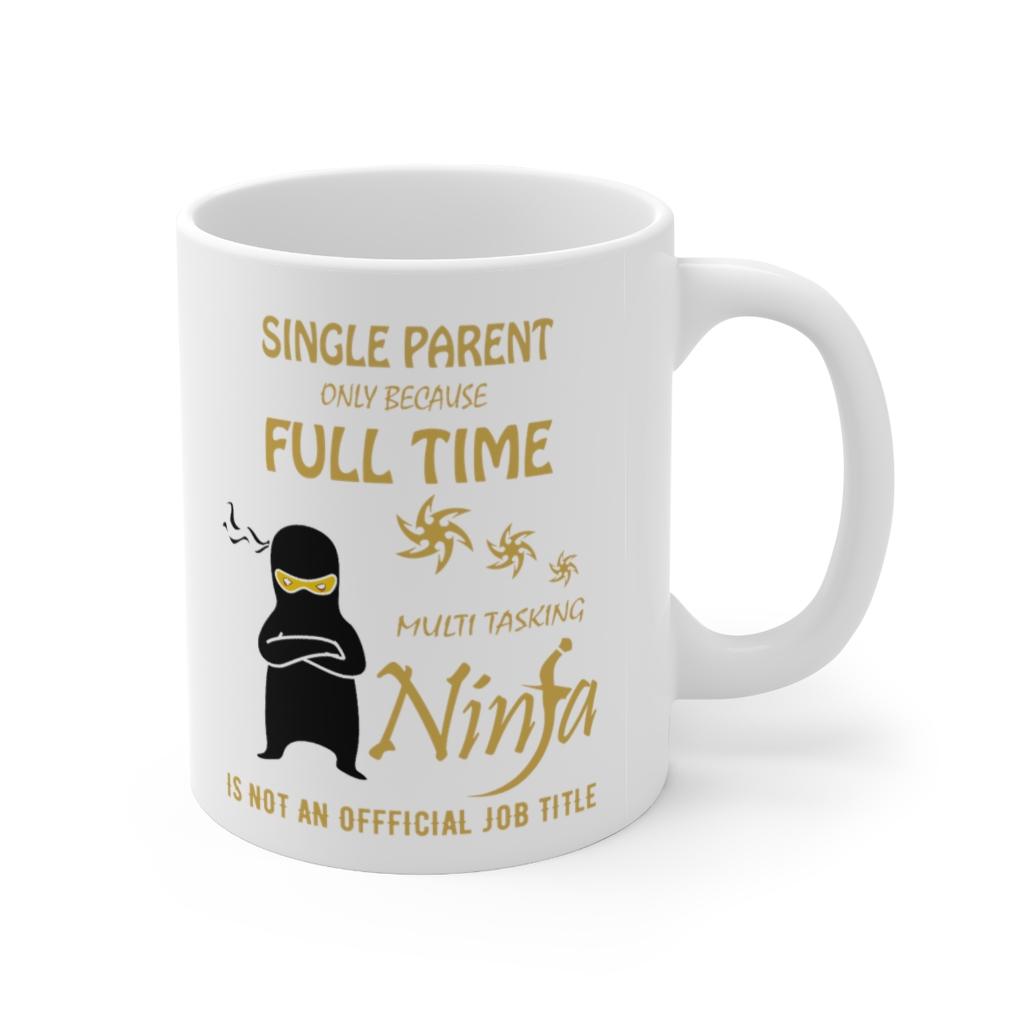 Single parent gift mug