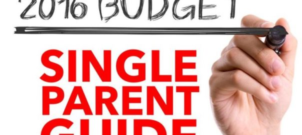 The single parent's need-to-know Budget 2016 guide